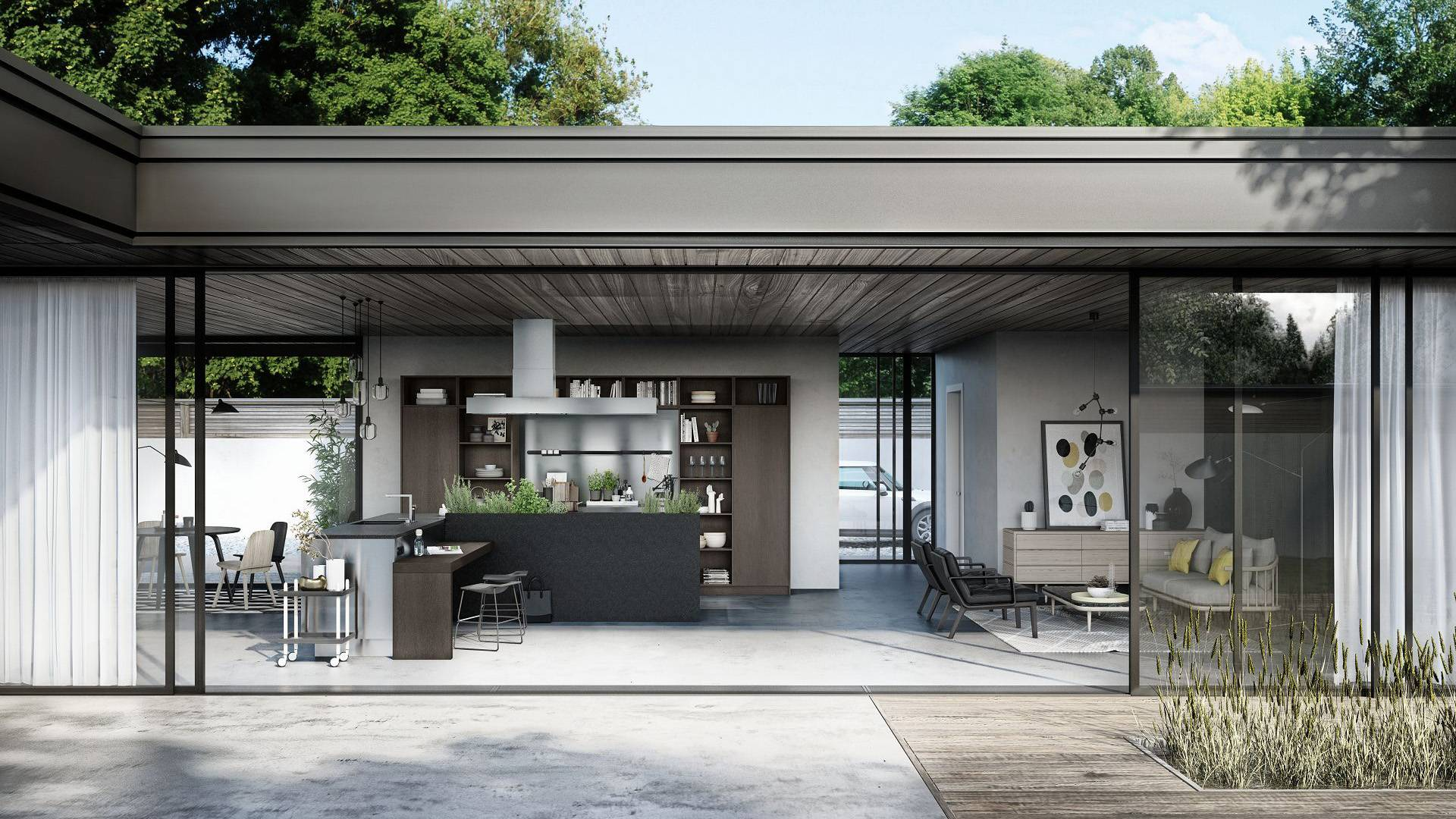 Smoker Outdoor Küche Siematic Kitchen Interior Design Of Timeless Elegance