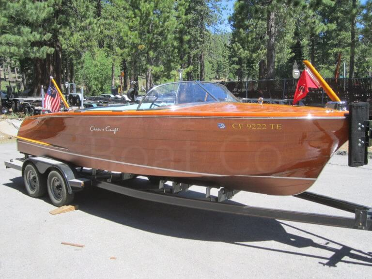 1959 Chris Craft 18ft Continental - Sierra Boat Company