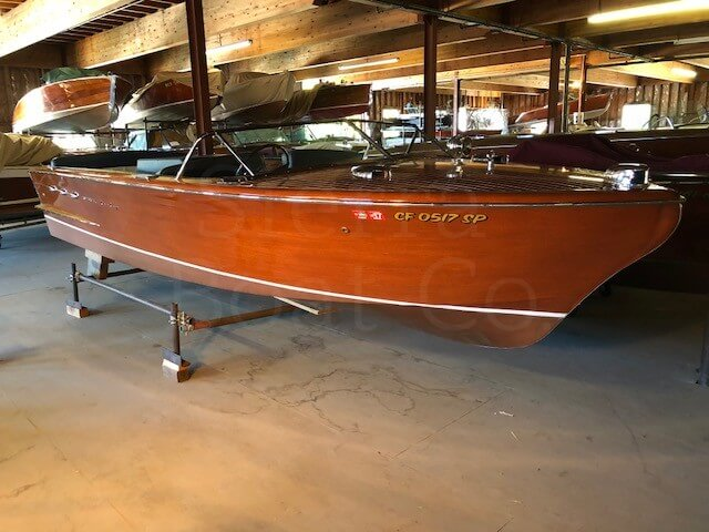 1955 Chris Craft 22ft Continental - Sierra Boat Co