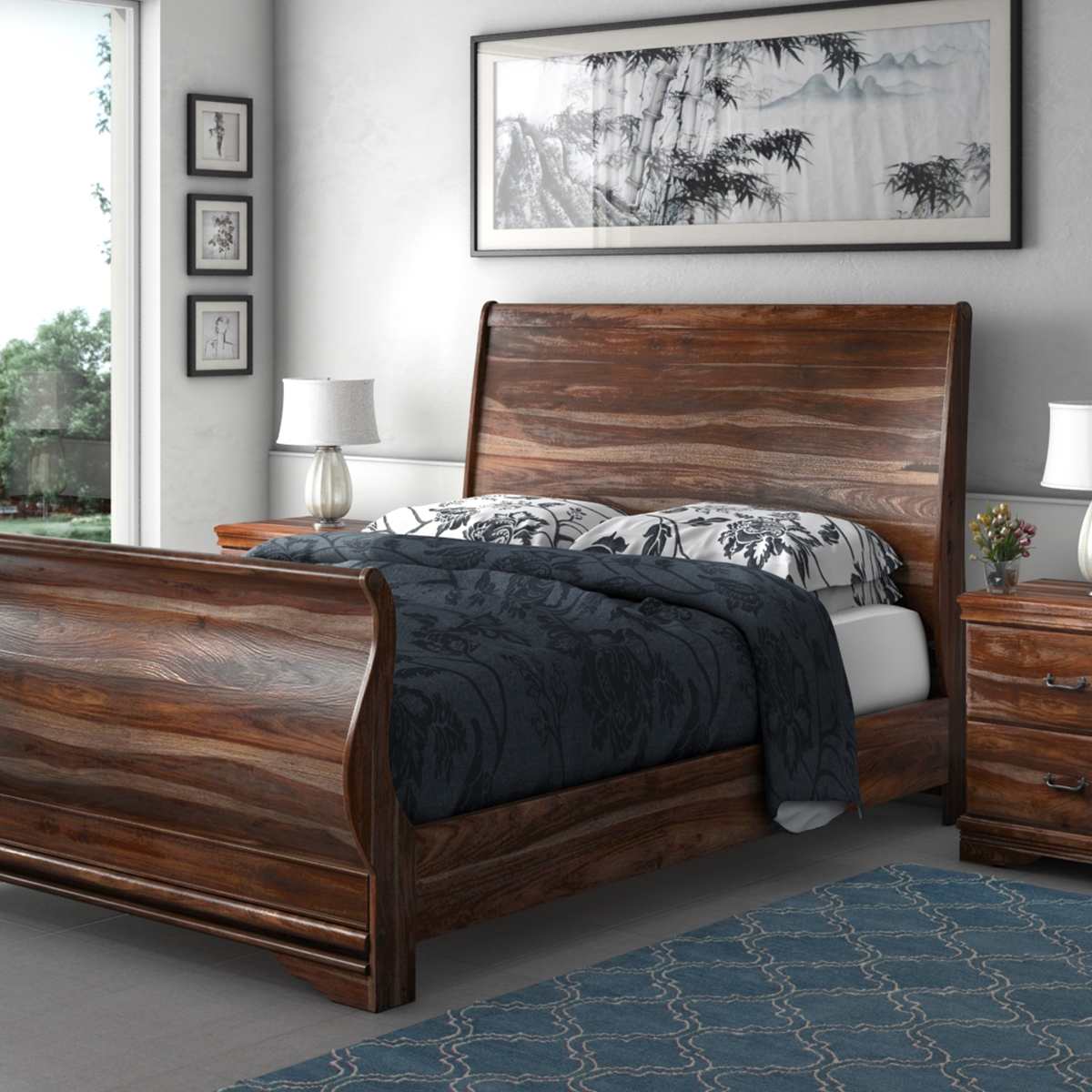 Solid Wood Bed Introducing New Solid Wood Bed Collection At Sierra Living