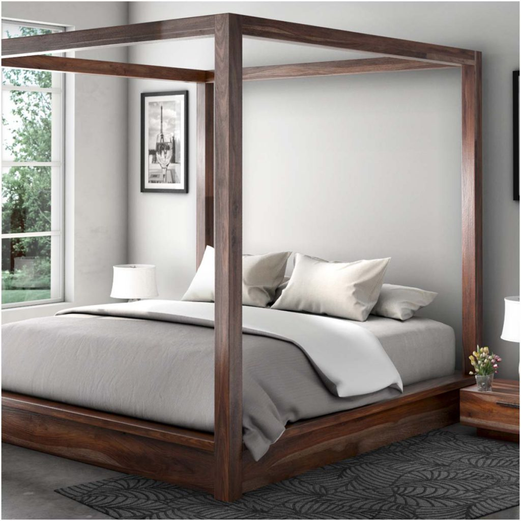 Wood Four Poster Beds Which Four Poster Bed Is Best For You