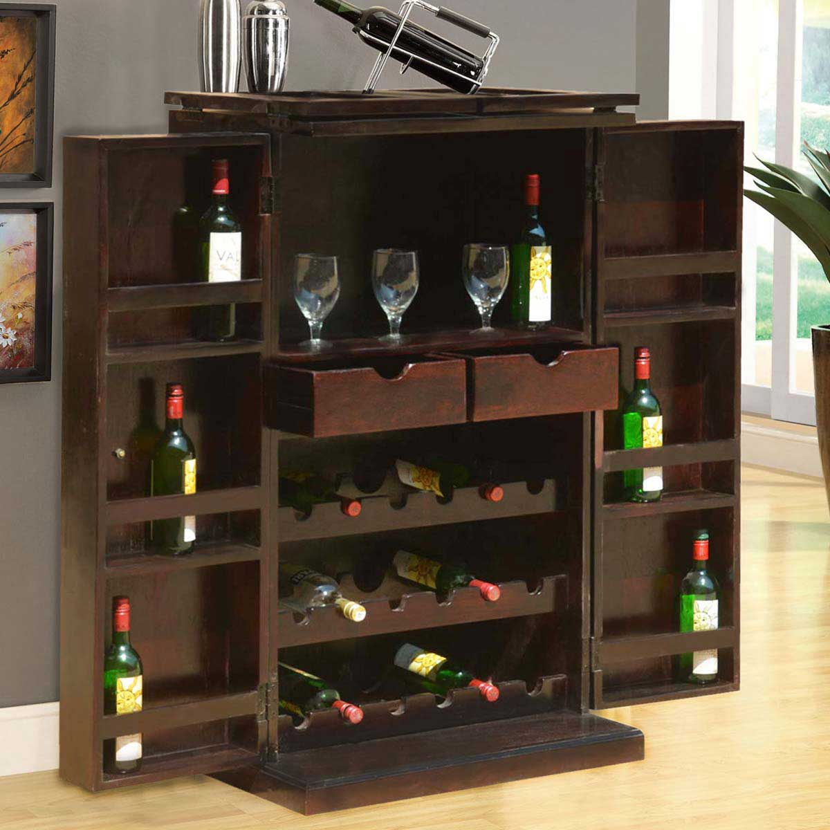 Wine Storage Cabinet Get A Custom Home Bar And Built In Wine Storage Cabinet