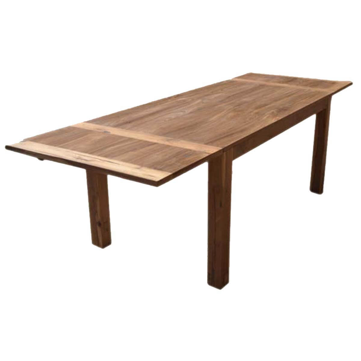 Extension Table Cariboo Contemporary Teak Wood Dining Extension Table