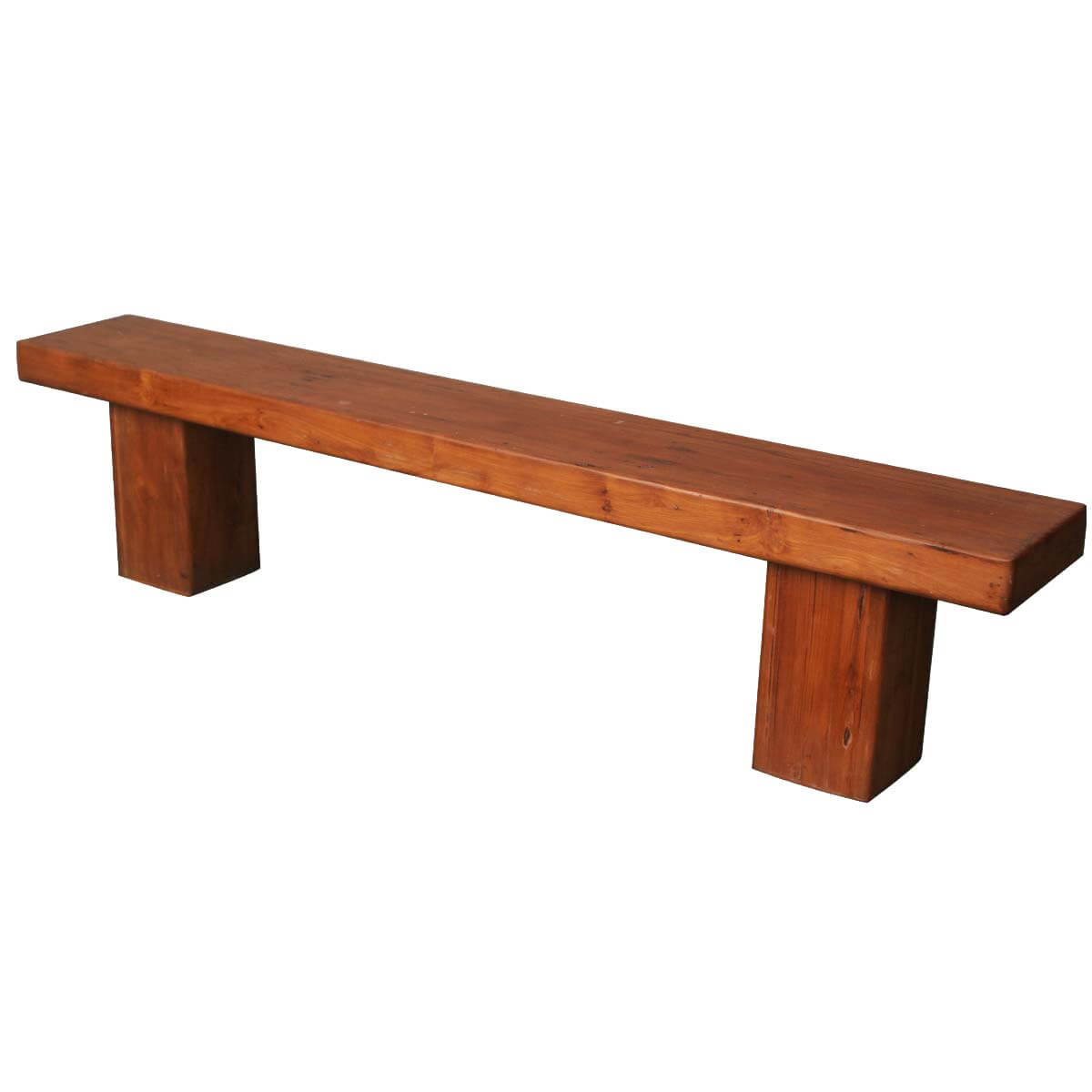 Long Table Benches Contemporary Solid Wood 79 Quot Long Dining Bench