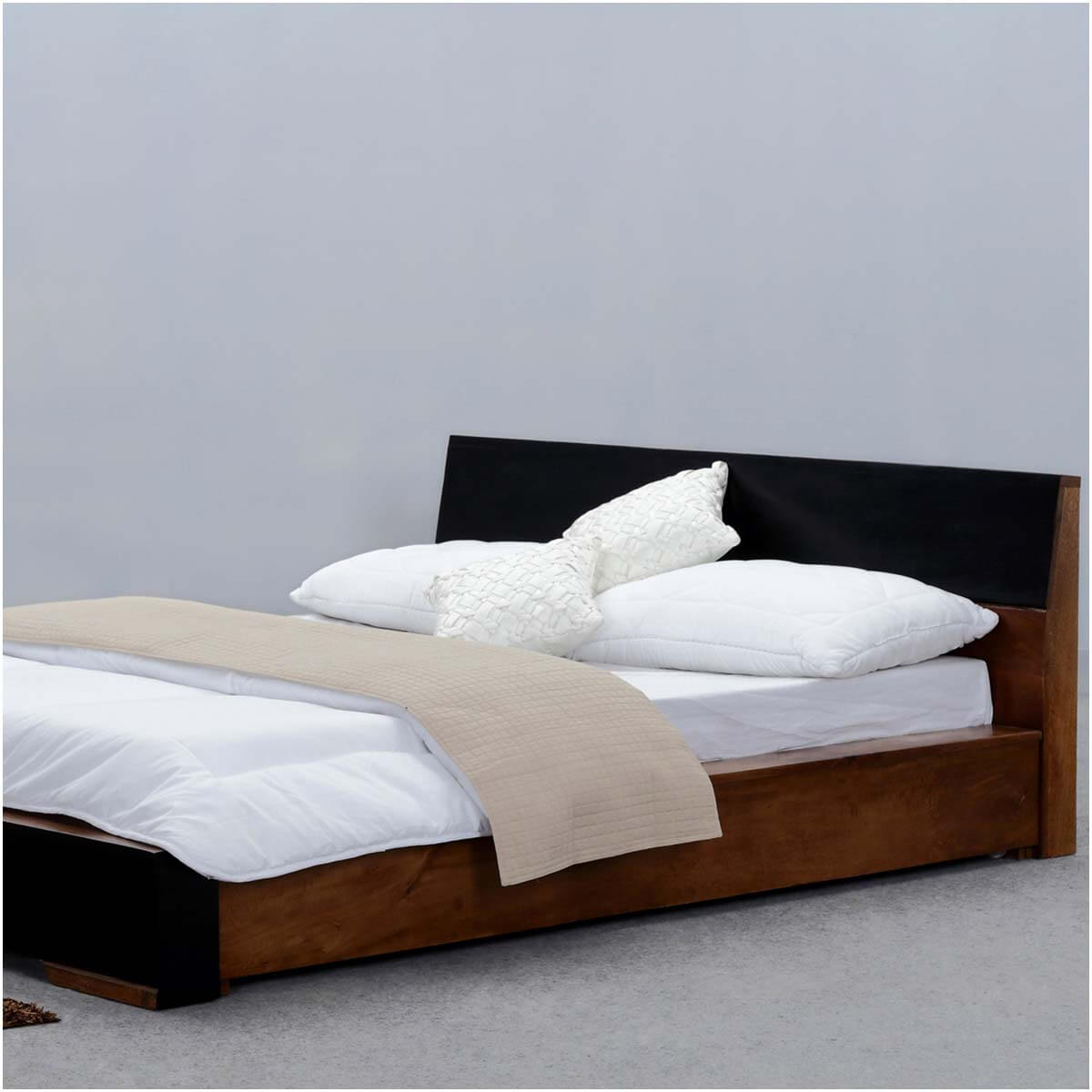On Floor Beds Modern Simplicity California King Size Floor Frame