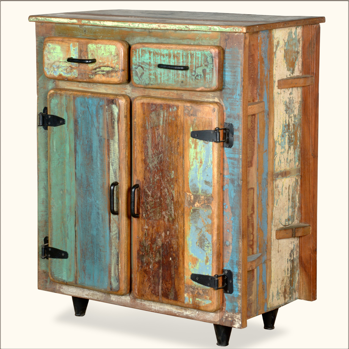 Utility Kitchen Cabinet Reclaimed Old Wood Rustic Kitchen Utility Storage Cabinet