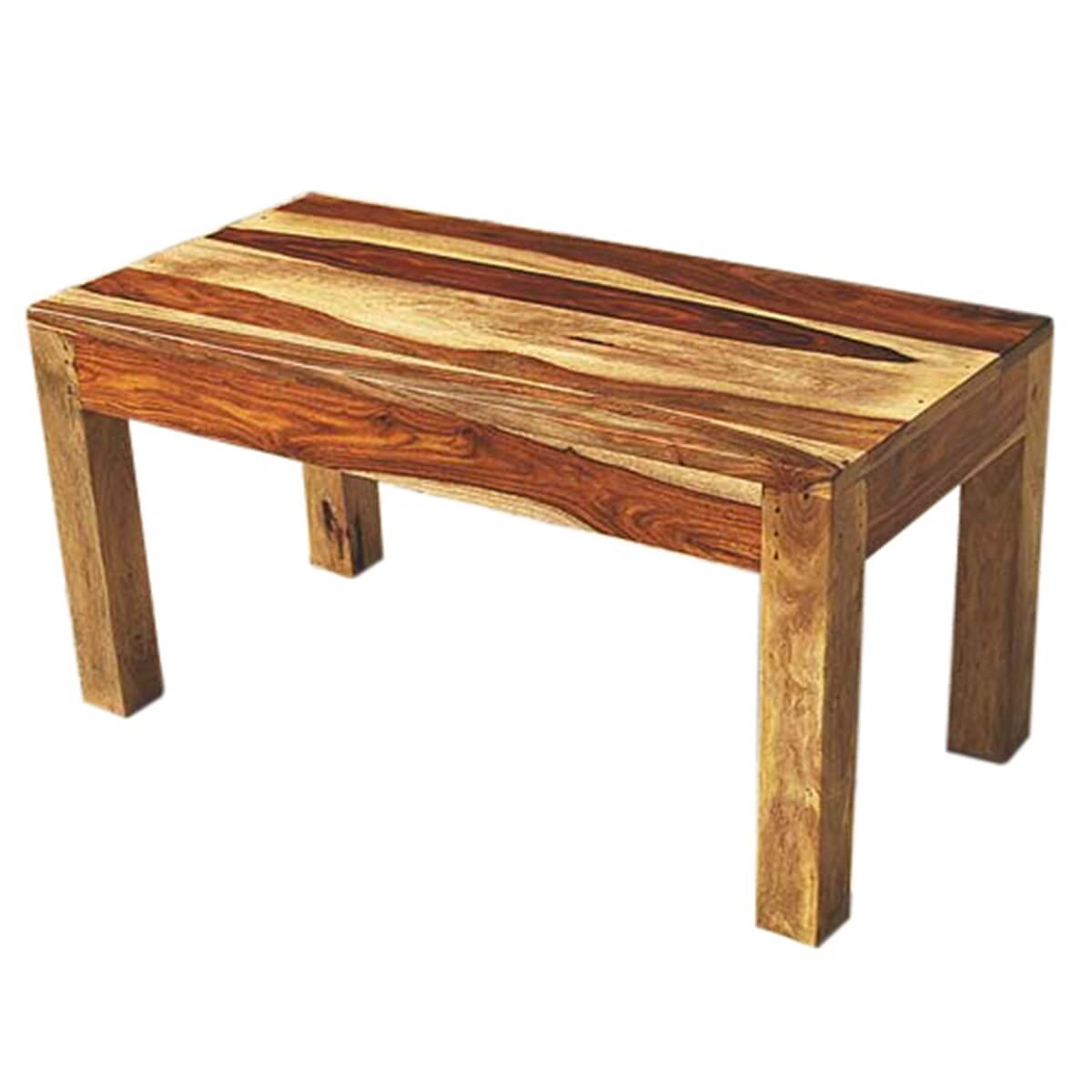Couchtisch Rechteckig Holz Mission Style Solid Wood Rectangular Coffee Table