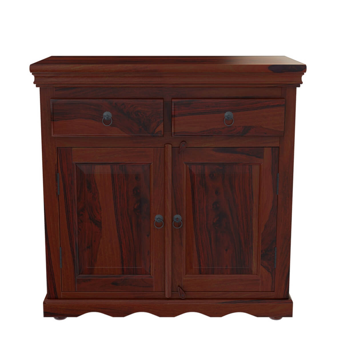 Unfinished Kitchen Cabinets Tampa Tampa Rustic Solid Wood Handmade 2 Drawer Buffet Cabinet