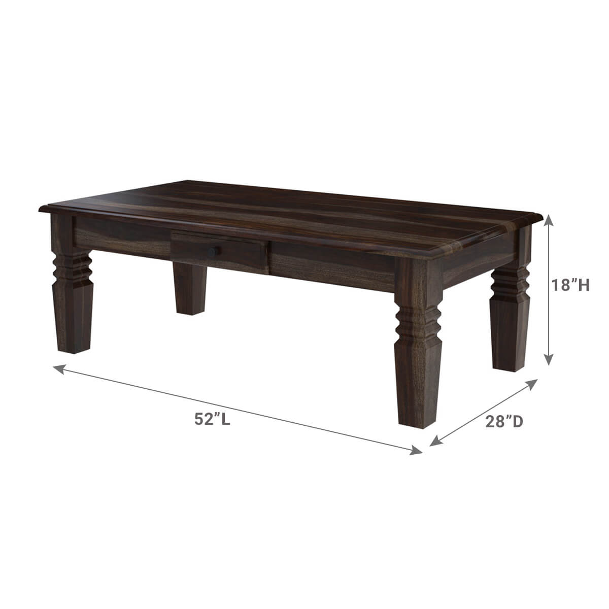 Black Coffee Table Modern Sierra Nevada Contemporary Black Coffee Table With Drawer