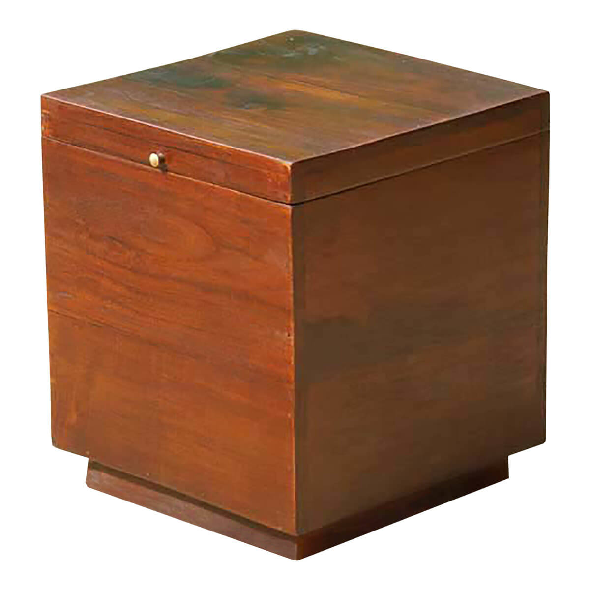 Box End Table Solid Wood Square Storage Box Coffee Side End Table New