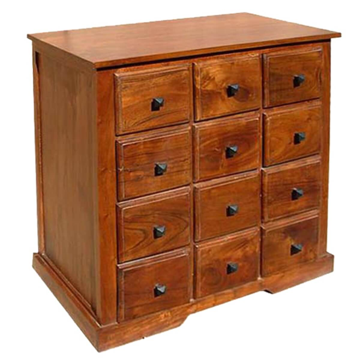 Wooden Drawers Handmade Wooden Bedroom Storage Dresser Chest With 12 Drawers