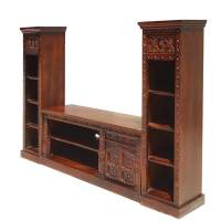 tv stand and bookshelf - 28 images - rustic solid wood ...