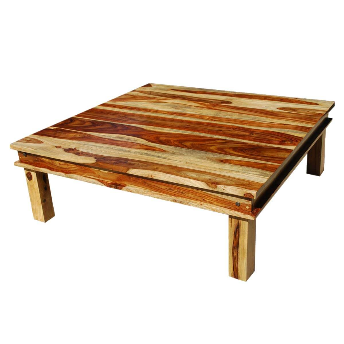Coffee Tables Images Large Square Wood Rustic Coffee Table