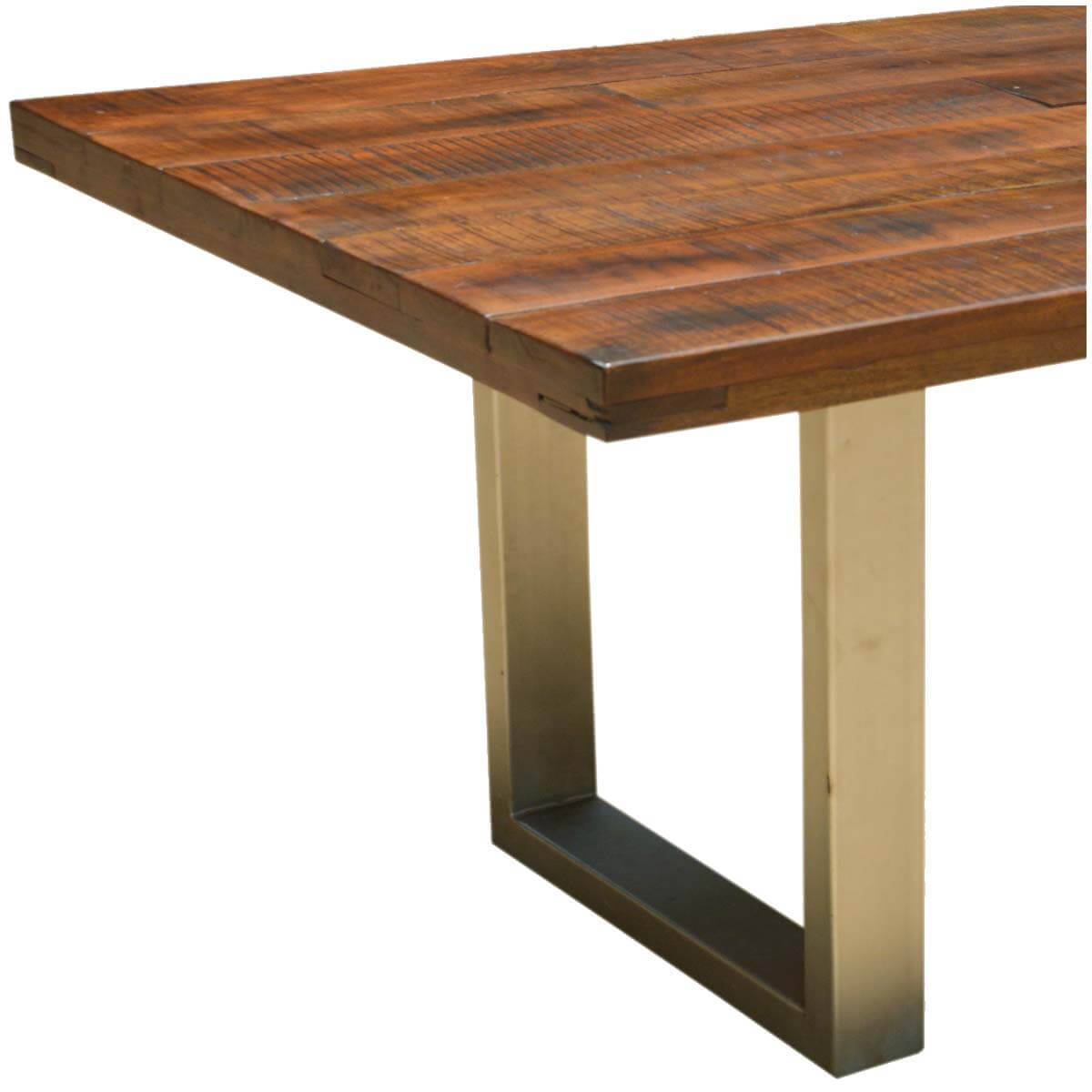 Acacia Dining Table Acacia Lyon Large Contemporary Rustic Solid Acacia Wood