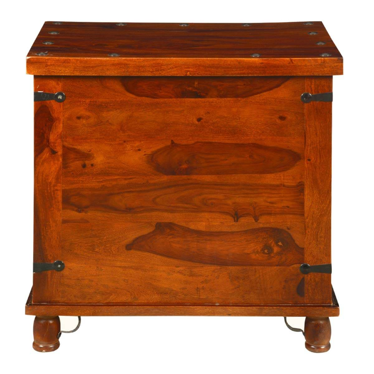 Box End Table Kokanee Rustic Storage Trunk Box Side End Table