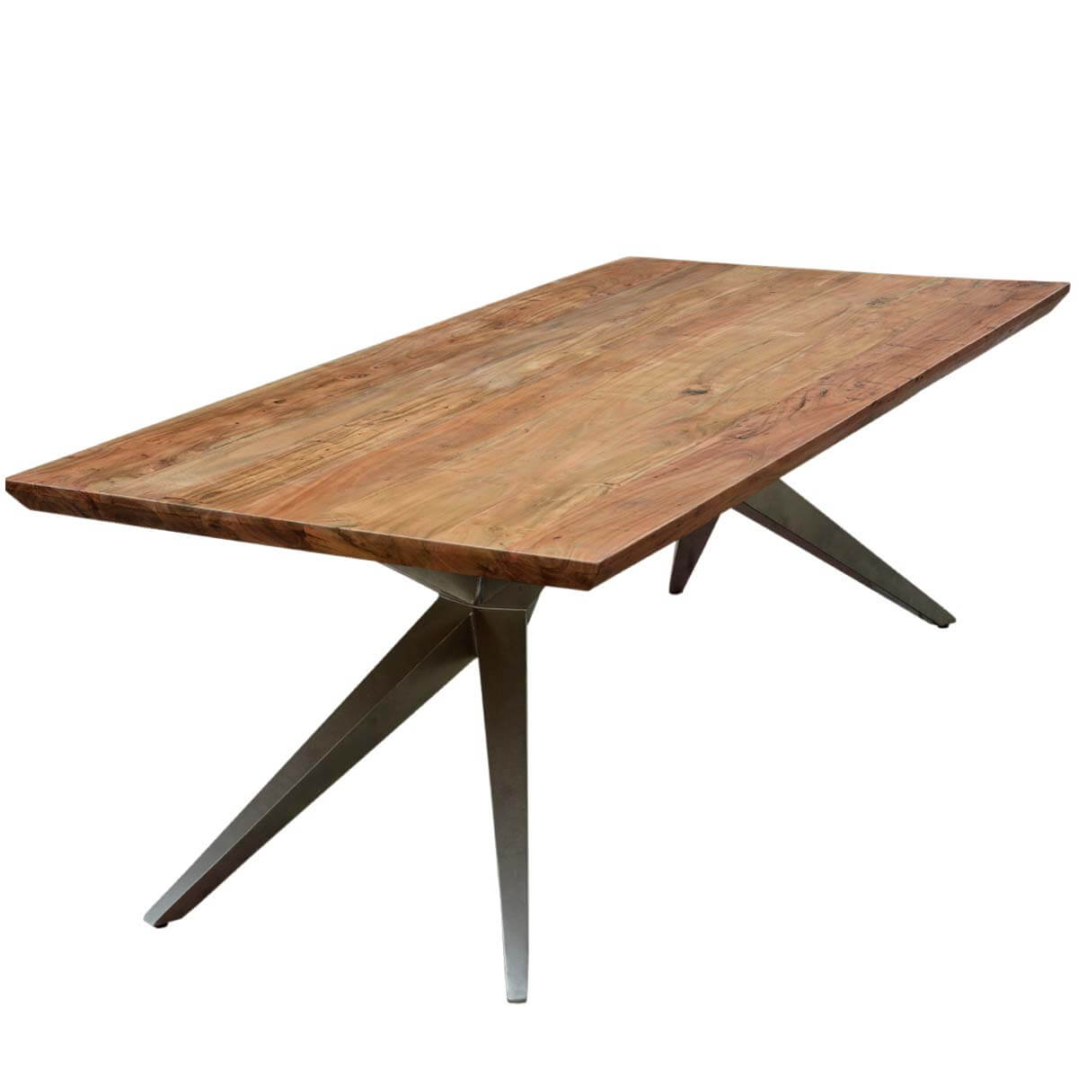 Unique Dining Table Unique Industrial Spyder Loft Solid Wood Hankin Large