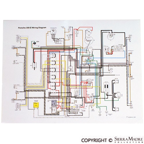 Porsche 356 A Wiring Diagram Electronic Schematics collections