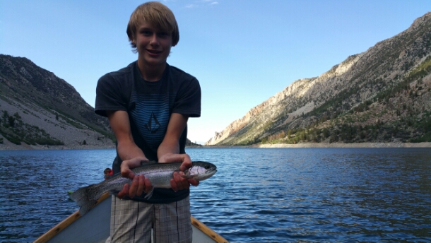 Bishop fly fishing report bishop creek drainage for Bishop ca fishing