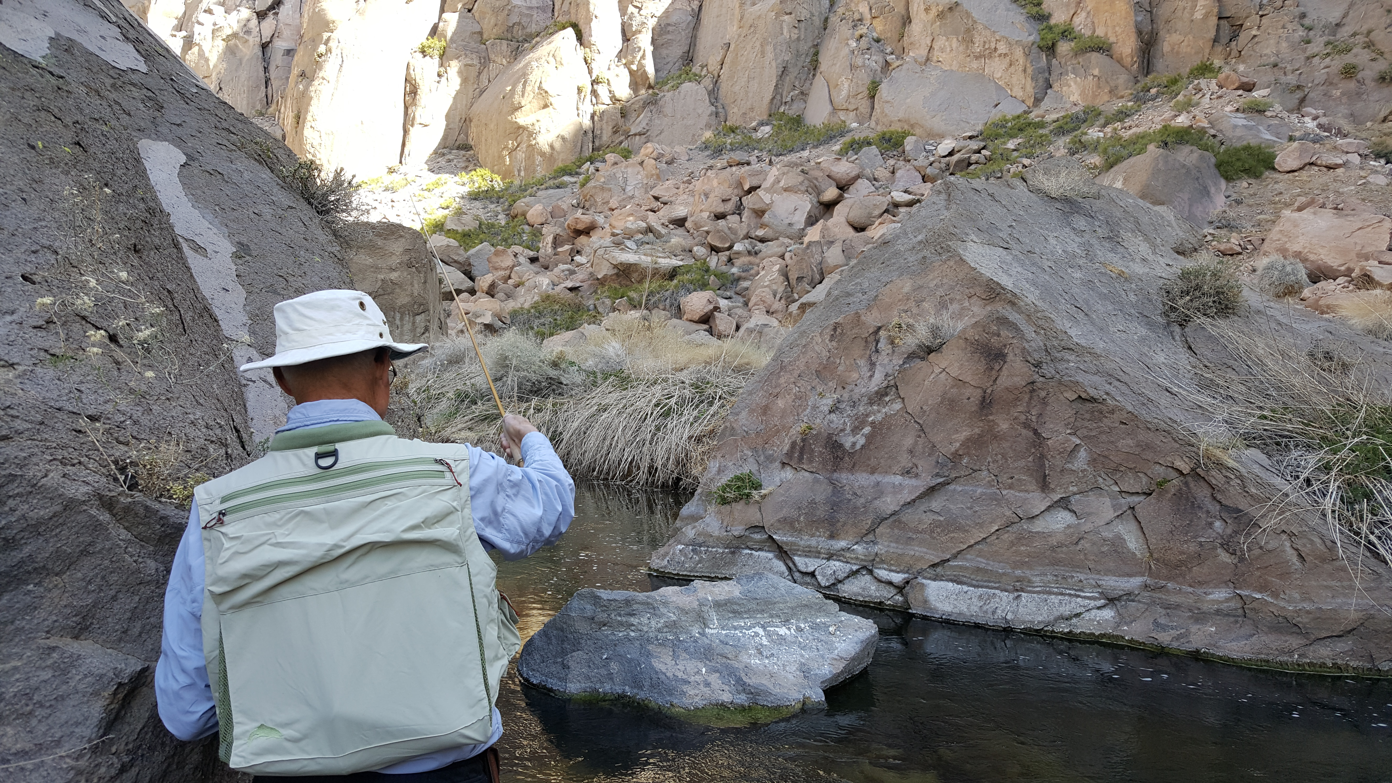 Gorge fly fishing report mammoth lakes bishop ca for Bishop ca fishing