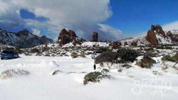 Национальный парк Тейде в снегу