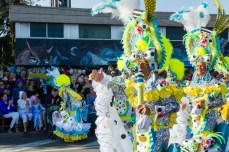 Карнавал на Тенерифе — мужчина в костюме