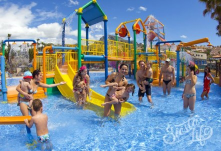 Развлечения для детей в Акваленде на Тенерифе