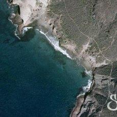 Пляж Диего Эрнандез на карте