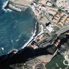Пляж Сан Маркос на карте