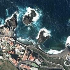 Вид со спутника на пляж Эль Прис
