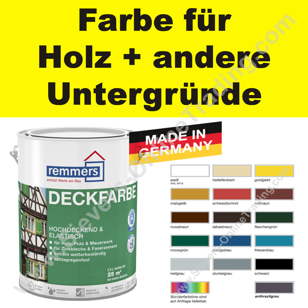 Remmers Farbe Anthrazit Remmers Farbe Smartstore