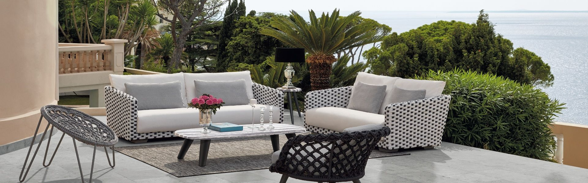 Salon De Jardin Design Sifas Basket | Segue Collection Paul Brayton ...