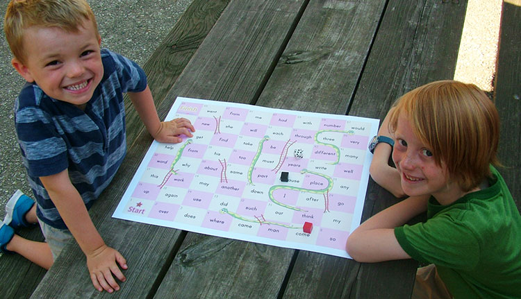 Sight Words Snakes Ladders Sight Words Teach Your