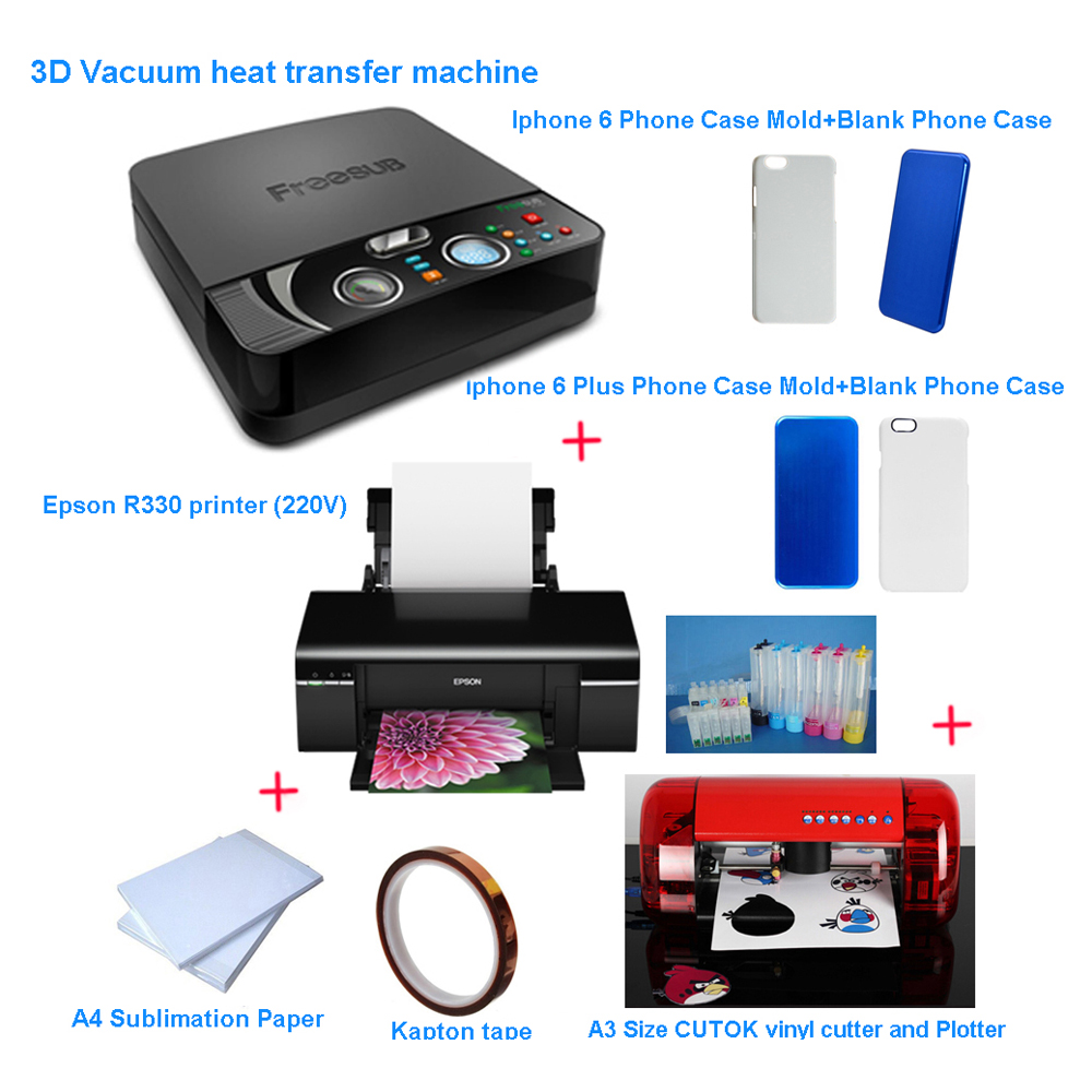 Sublimation Press 798 00 Professional Phone Case Sublimation Heat Transfer Press Printing Solution