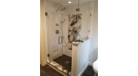 Frameless Shower Enclosure | Plymouth Remodel | Signature ...