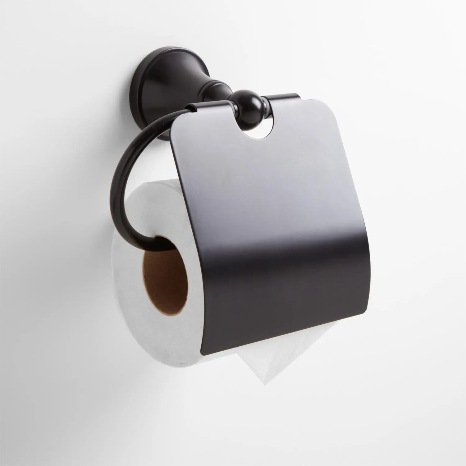 Concealed Toilet Paper Holder Seattle Collection Toilet Paper Holder In Dark Oil Rubbed