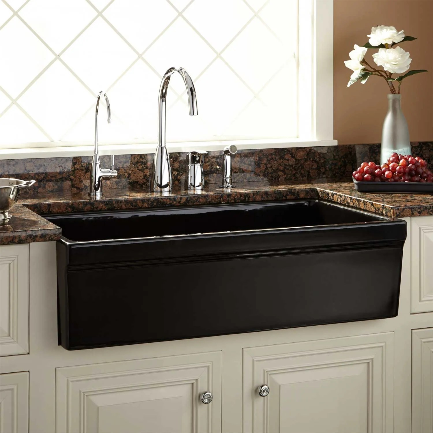 Latoscana Farmhouse Sink 36 33 Inch Fireclay Farm Sink Sinks Ideas