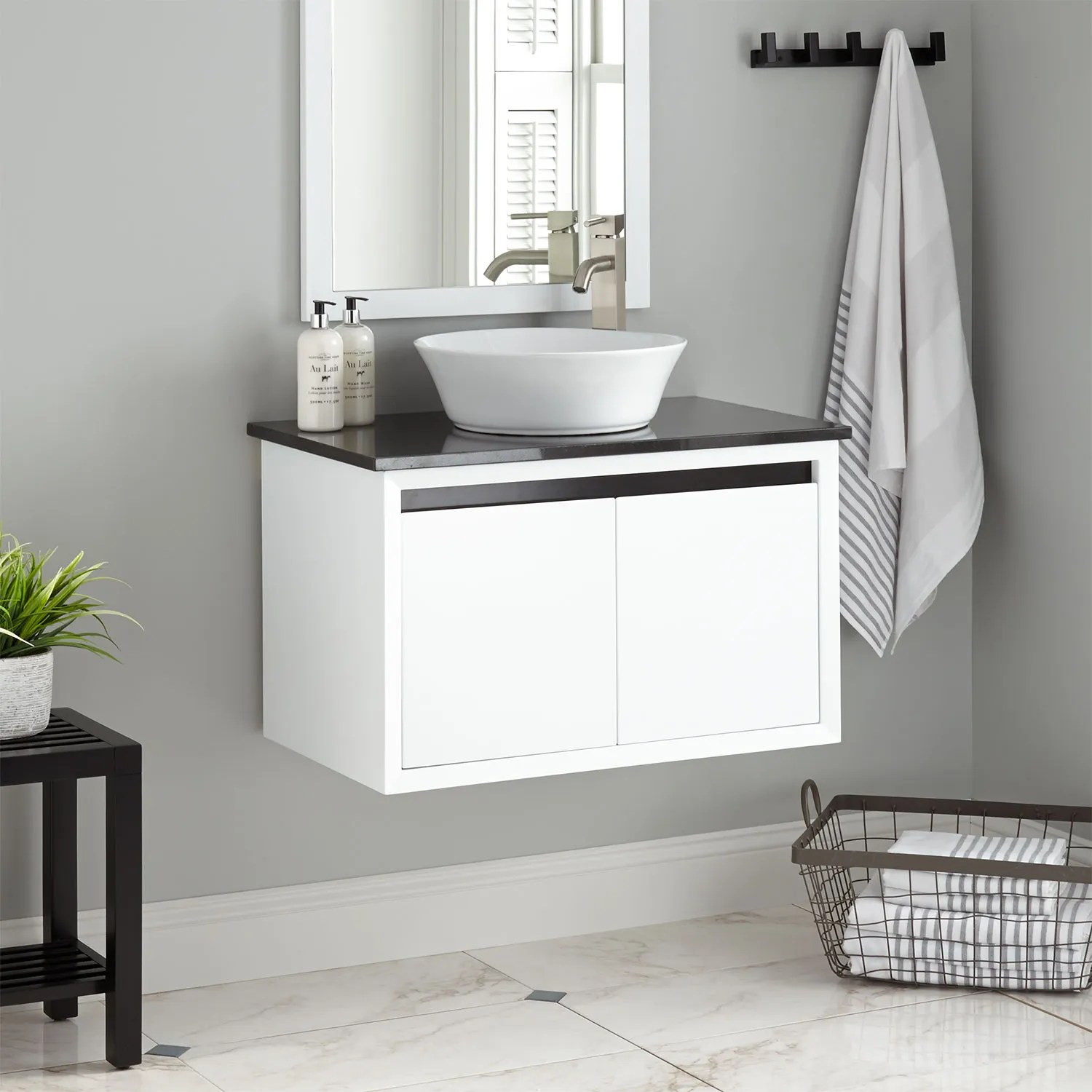 30 Floating Bathroom Vanity Floating Bathroom Vanity Signature Hardware