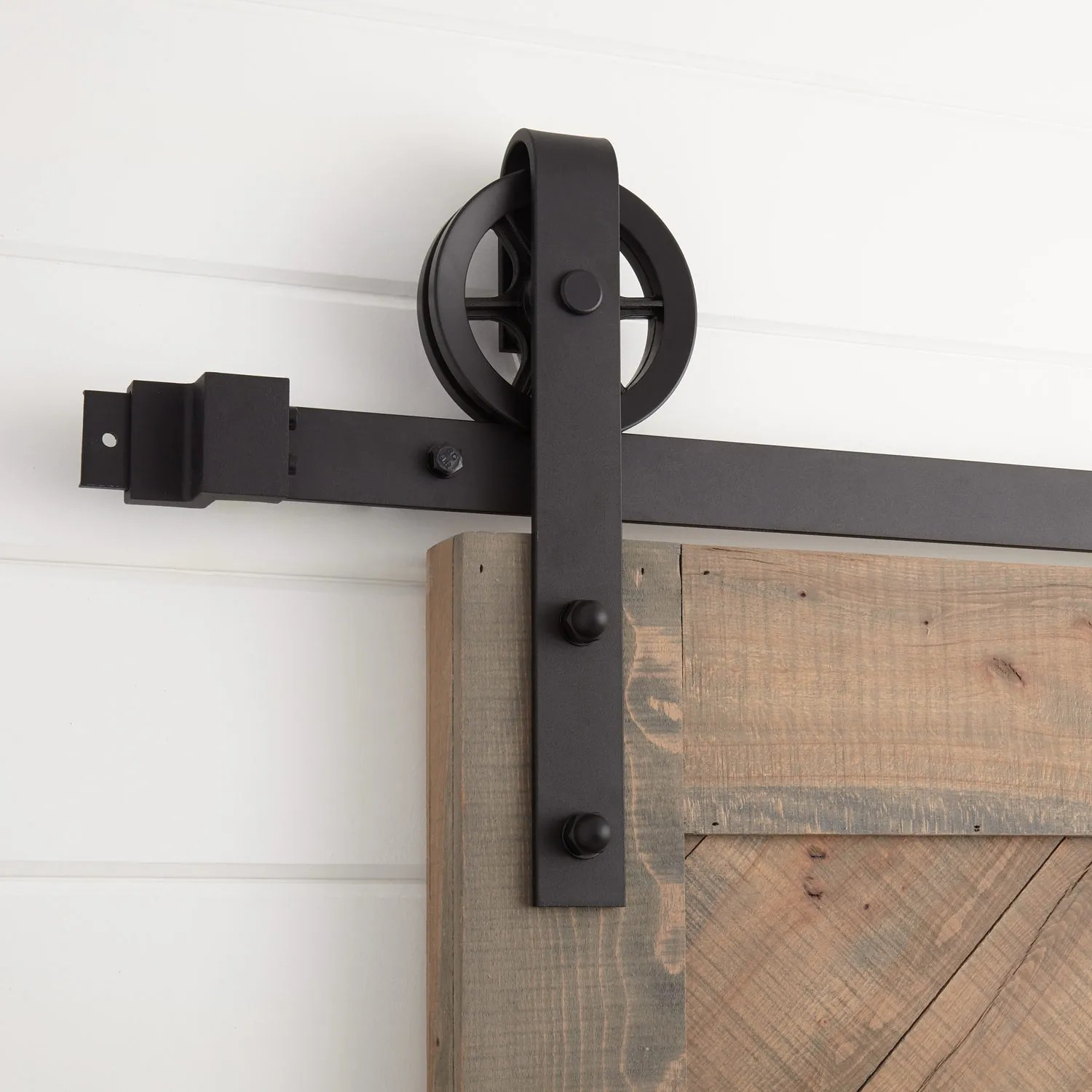 Barn Door Wheels Ando Barn Door Hardware Black Hardware