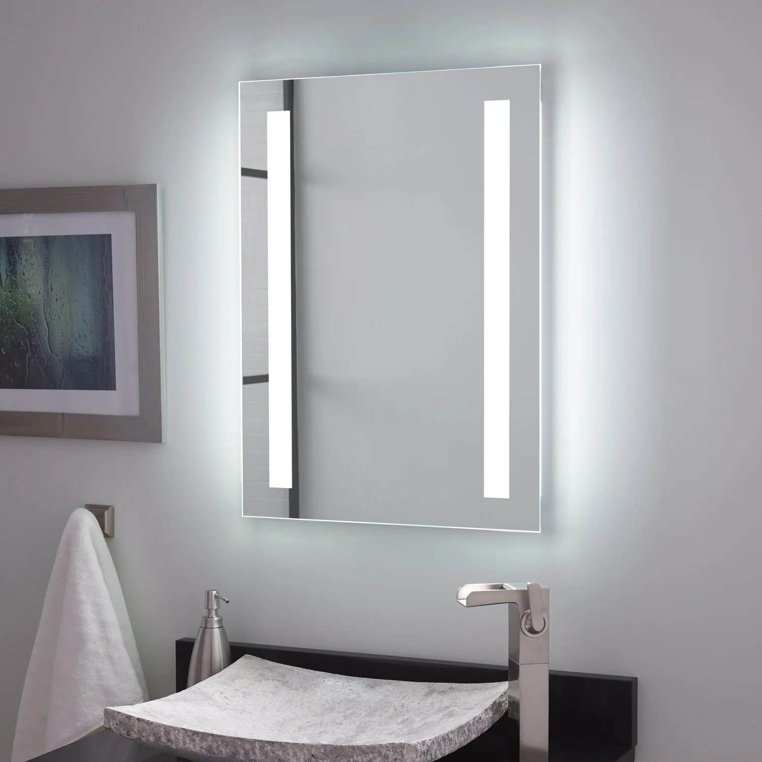 Bathroom Sleek Mirror Signature Hardware