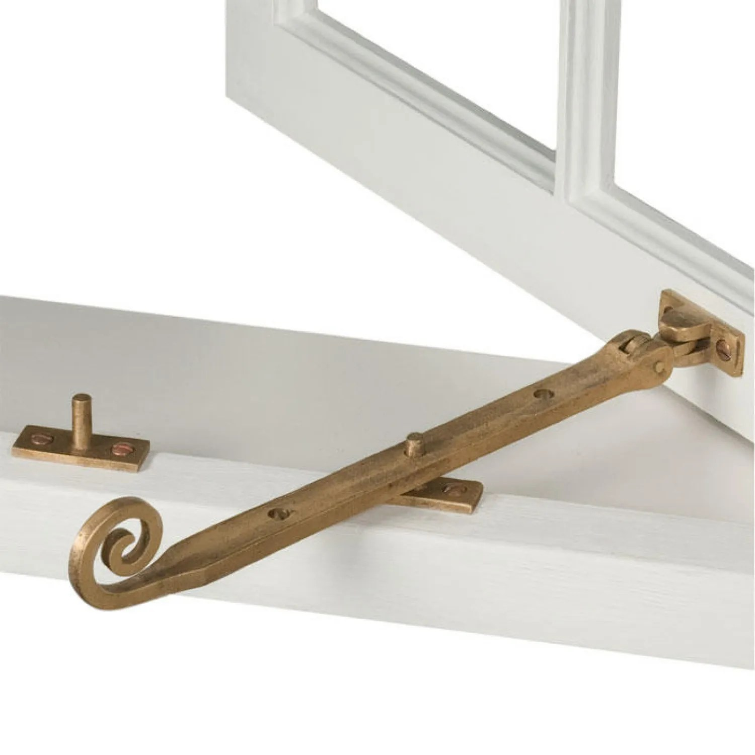 Home Hardware Windows Solid Bronze Curly Casement Window Stay Hardware