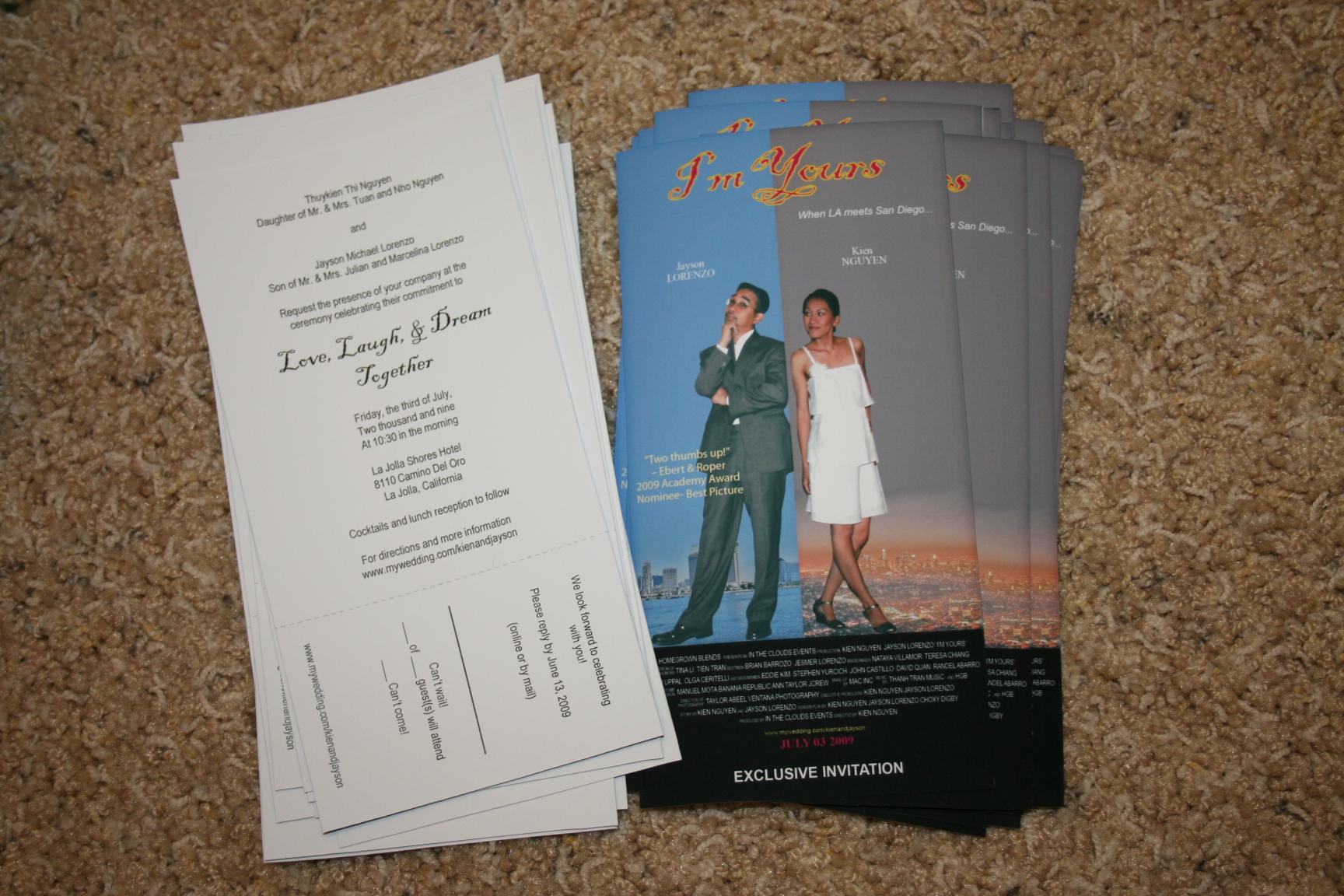 up movie invitations