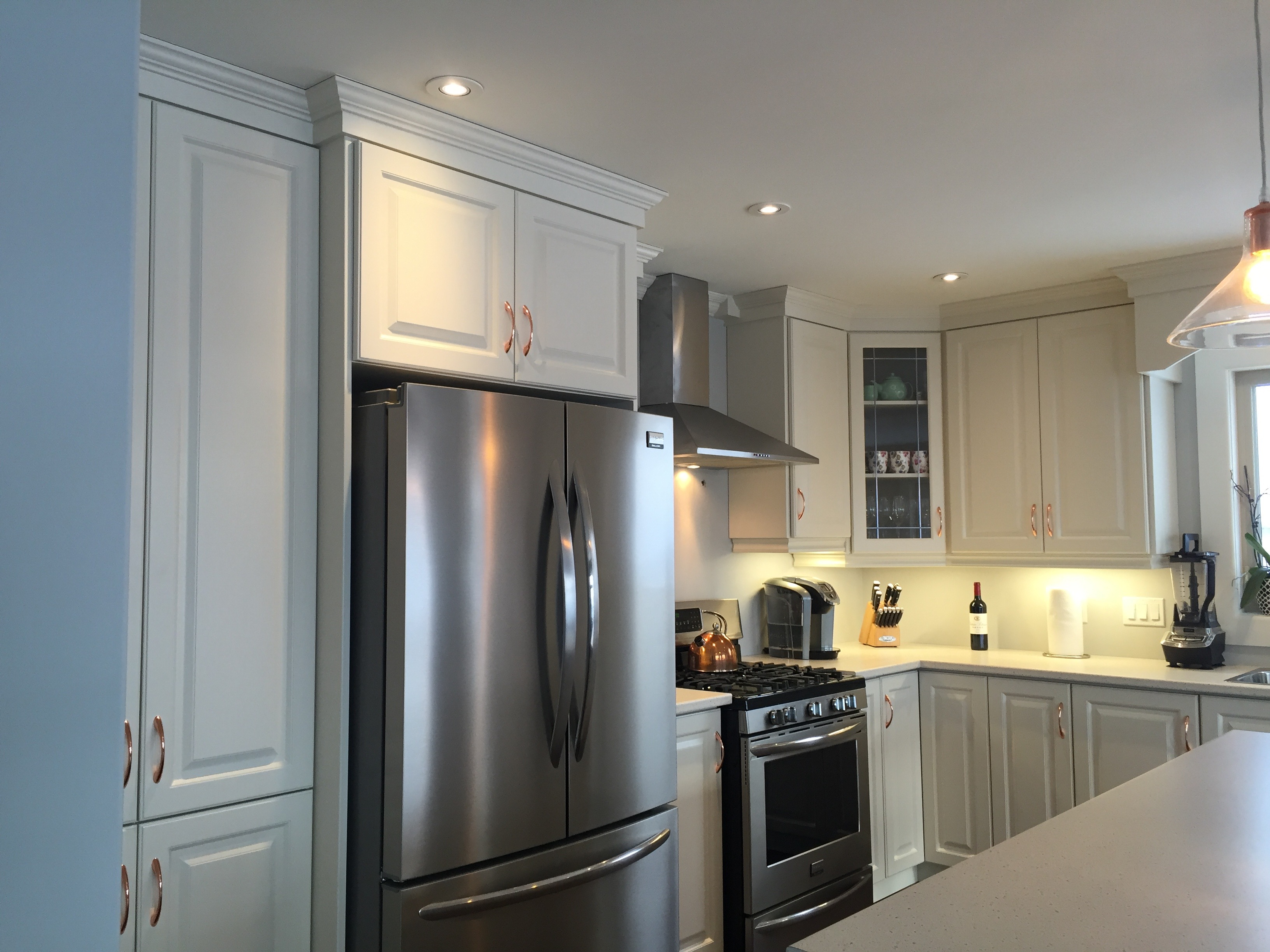 Kitchen Cabinets Newfoundland Antique White Thermofoil Kitchen Signature Kitchens And