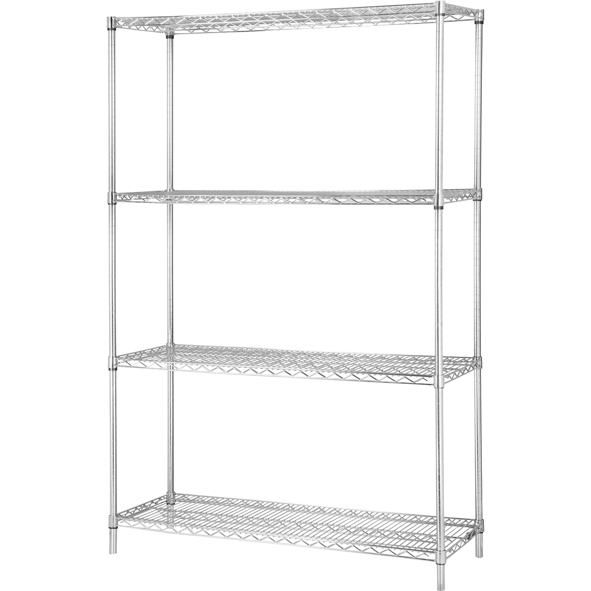 Mesh Shelving Lorell Industrial Wire Shelving Units 48
