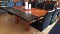 Tables en bois massif  Signature Stphane Dion