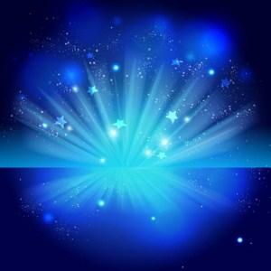el azul simboliza noche y fantasia