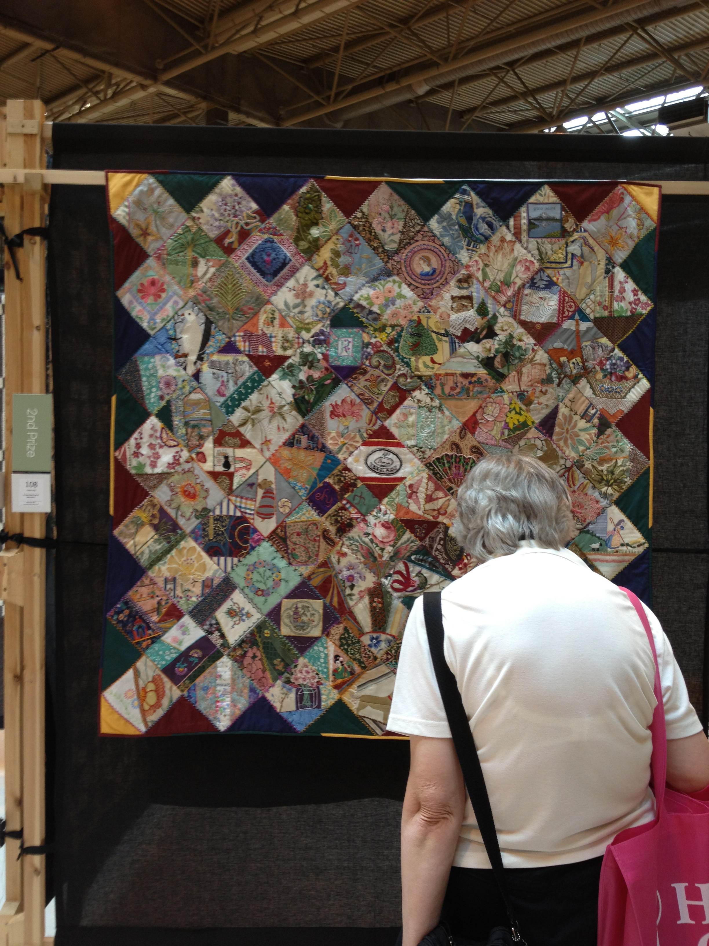 Quilt Festival Birmingham The Festival Of Quilts In Birmingham 2013 Part 1 Significant Seams