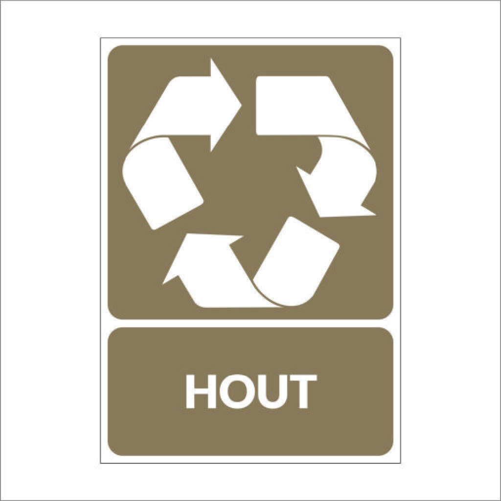 Recycle Hout Recycle Hout - Signland