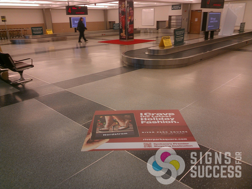 Floor And Ground Graphics Signs For Success