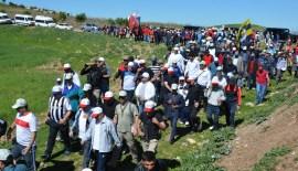 BOTAN VADİSİNDE YER ALAN TARİHİ 3500 YILLIK AKABE YOLUNDA DOĞA YÜRÜYÜŞÜ YAPILDI