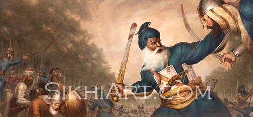 Baba Deep Singh Ji Wallpaper Hd Painting Baba Deep Singh Ji Shaheed Sikh Warriors